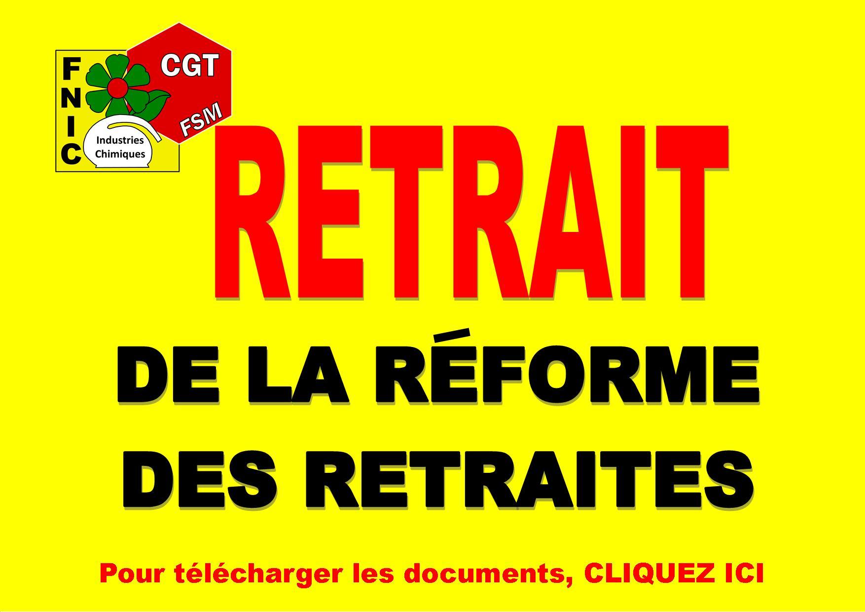 RETRAIT DE LA REFORME DES RETRAITES