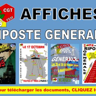 AFFICHES RIPOSTE GENERALE