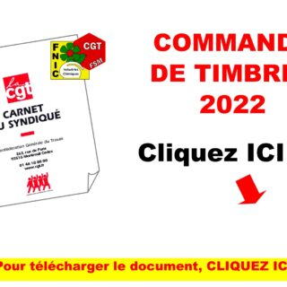 COMMANDE TIMBRES 2022